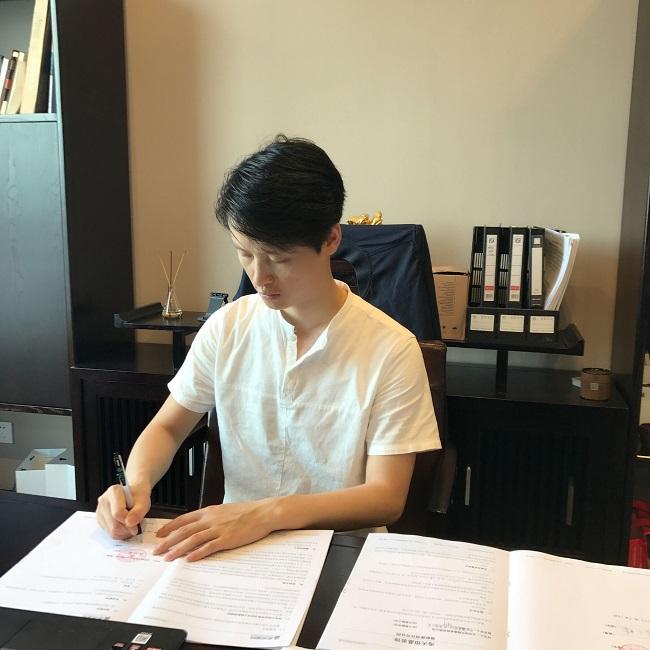庆祝浙江宁波易尚国际公司成立
